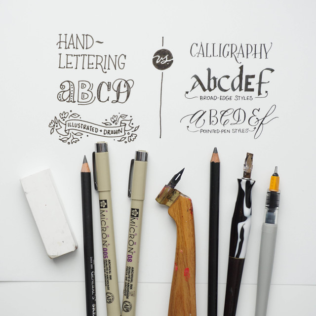 Choose a lettering class