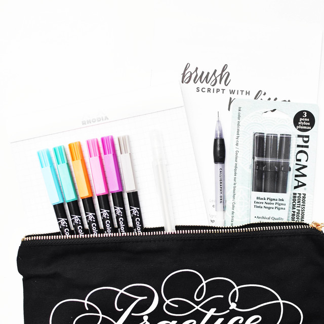 brush calligraphy kit