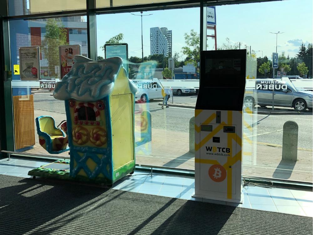 Nově dva Bitcoinmaty na Slovensku (Žilina, Bánská Bystrica) s limitem 5000Euro bez ověření!