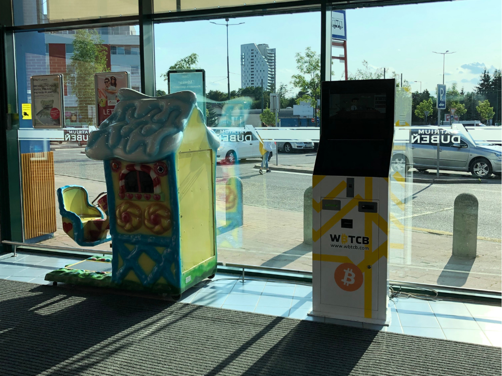 Two new Bitcoin ATM's in Slovakia (Žilina and Banská Bystrica) with 5000Euro limit without verification!