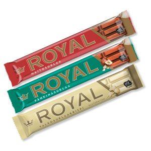Royal-patukat 3 kpl 2 €