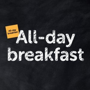 All-day Breakfast 5 €