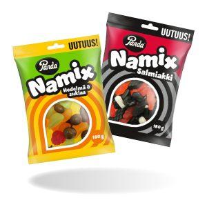 Panda Namix 2 kpl 4€
