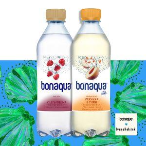 Bonaqua 2 kpl 5 €