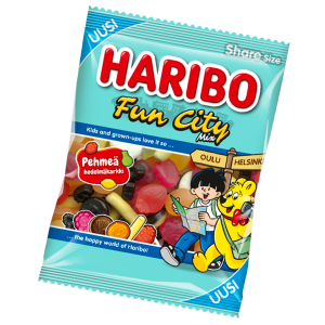 Haribo Fun City Mix 2,50 € kpl