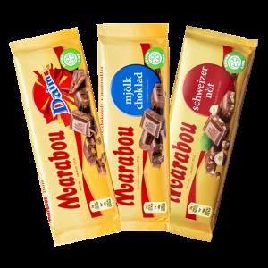 Marabou levyt 3 kpl 5 €