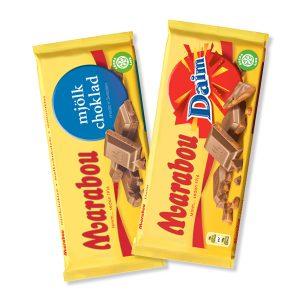 Marabou 2 kpl 5 €