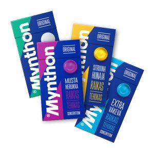 Mynthon pastillit 4 kpl 4 €