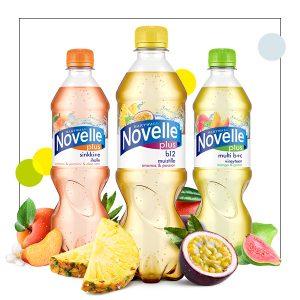 Novelle Plus 2 kpl 4 €
