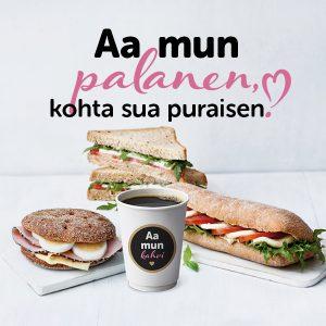 Kahvin/teen ostajalle leipä 3€