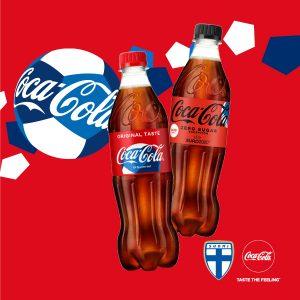 Coca-Cola 2 kpl 4 €