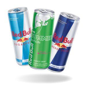 Red Bull-energiajuomat 2 kpl 4 €