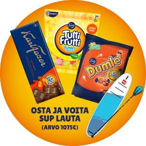 Fazer Tutti Frutti-makeiset 2 kpl 5 €
