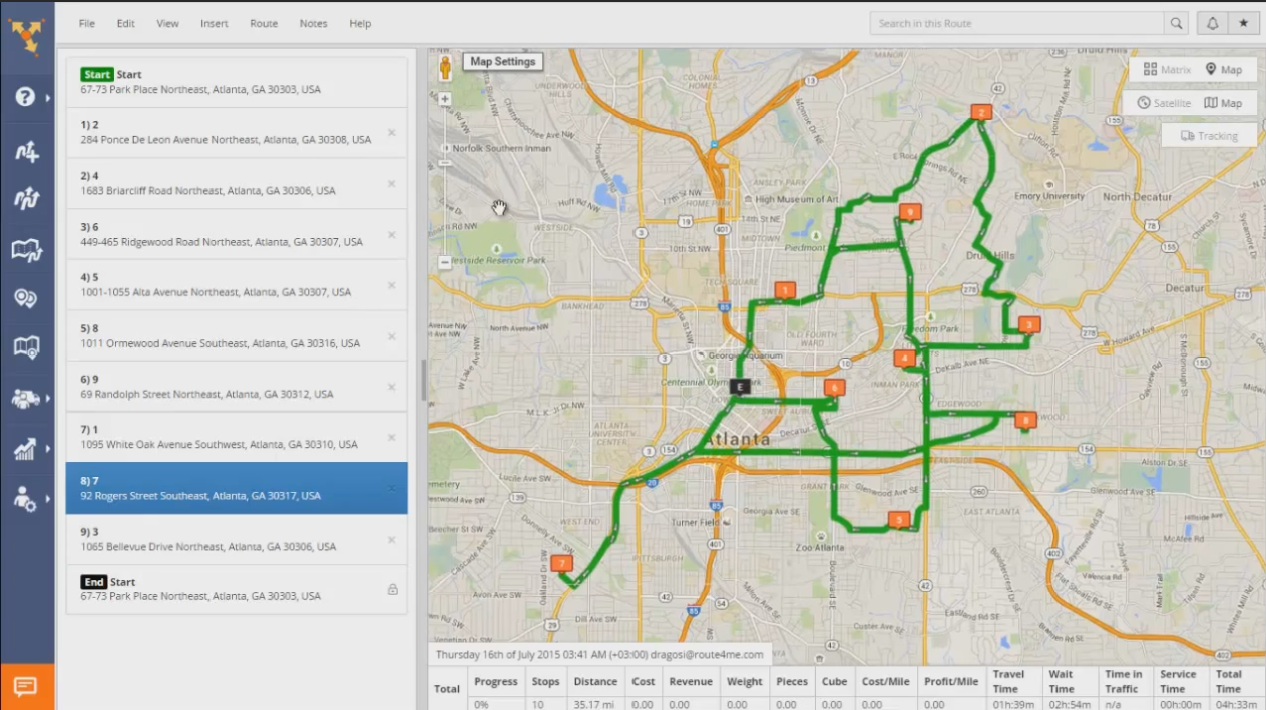 how a multi stop route planner can help you plan routes for multiple