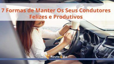 7 Formas de Manter Os Seus Condutores Felizes e Produtivos