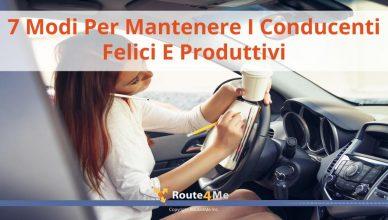 7 Modi Per Mantenere I Conducenti Felici E Produttivi