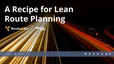 A Recipe for Lean Route Planning