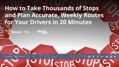 How to Take Thousands of Stops and Plan Accurate, Weekly Routes for Your Drivers in 20 Minutes