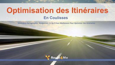 Optimisation des Itinéraires En Coulisses