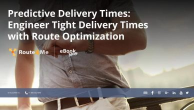 Predictive Delivery Times