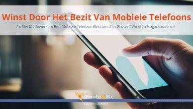 Winst Door Het Bezit Van Mobiele Telefoons