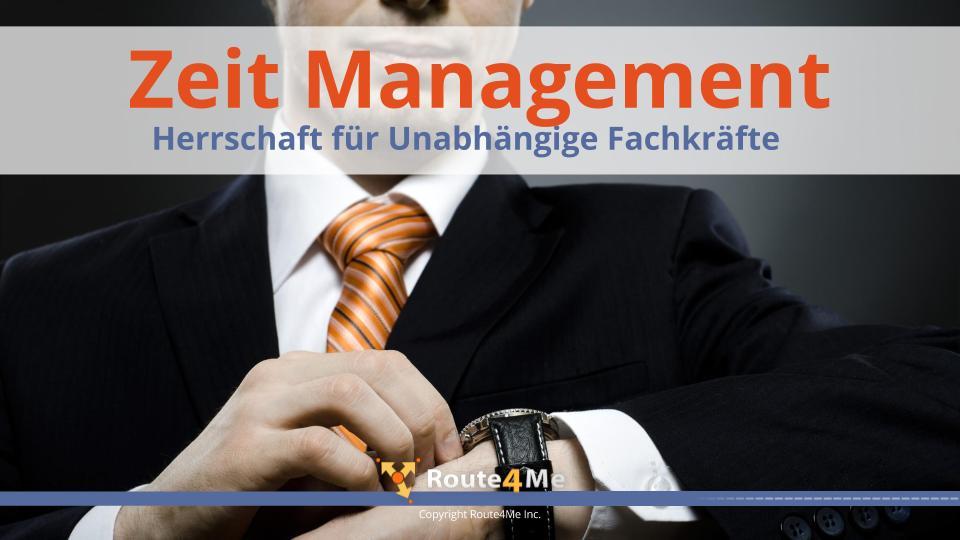 Zeit Management Herrschaft für Unabhängige Fachkräfte