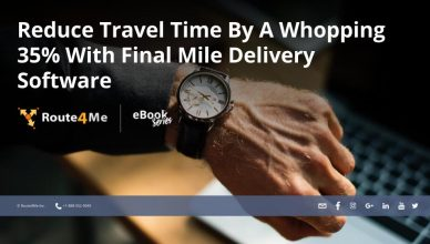 Reduce Travel Time By A Whopping 35% With Final Mile Delivery Software