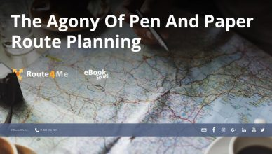 The Agony Of Pen And Paper Route Planning