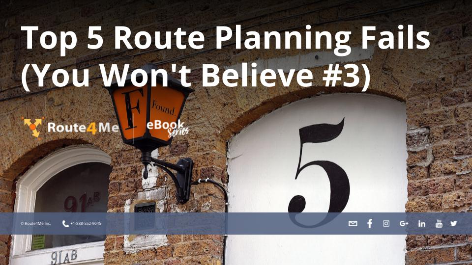 Top 5 Route Planning Fails (You Won't Believe #3)