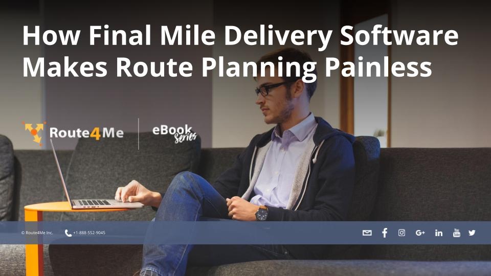 final mile delivery software