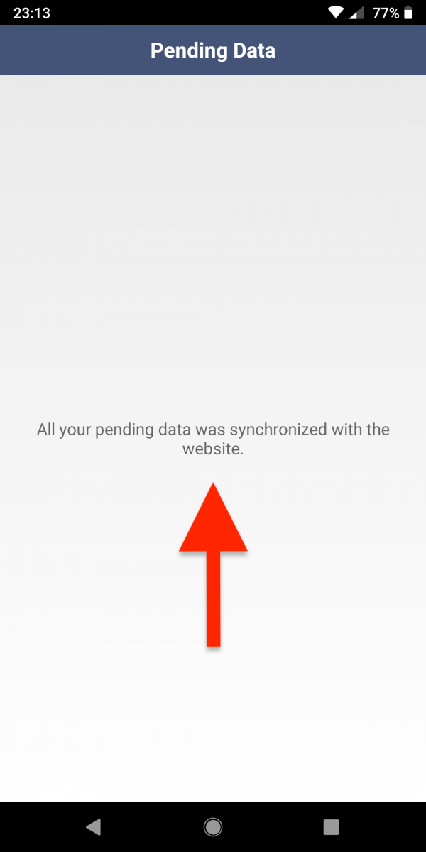 Offline Mode and Real-Time Data Synchronization (Android)