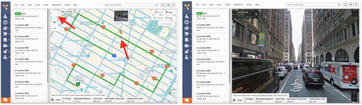 Route4Me Interactive Map - Customizing theRoute4Me Interactive Map Settings and Map View
