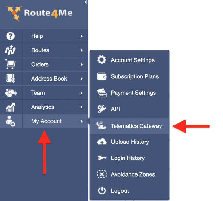 Route4Me's Telematics Integration with Teletrac Navman