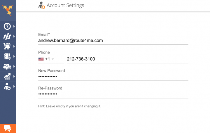 Managing Your Account Settings
