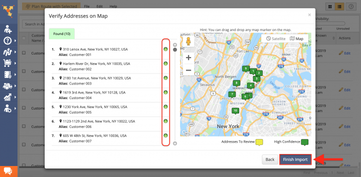 Switching from Google Maps Route Planning to Route4Me