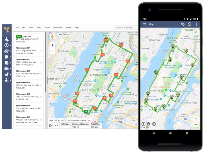 Uploading Files from Your Android Device, Google Drive, and Dropbox for Planning Routes (Android Devices)
