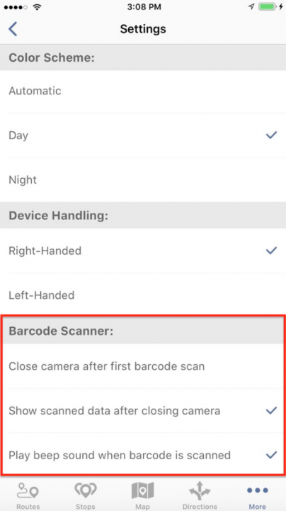 Using Barcode Scanner on an iPhone