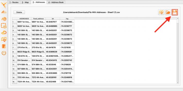 Private: Geocoding Addresses with the Enterprise Architect (Uploading a File)