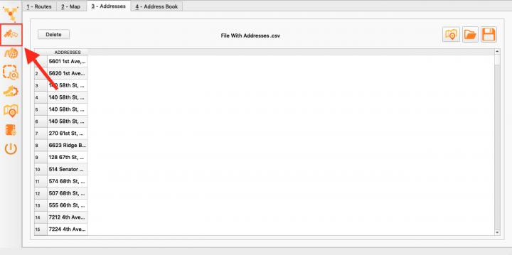 Geocoding Addresses with the Enterprise Architect (Uploading a File)