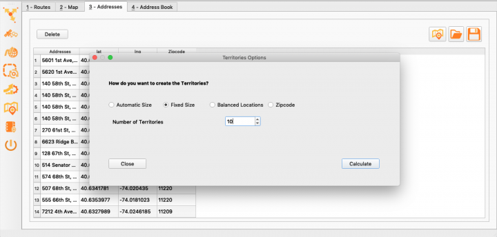 Optimizing Territories Using the Enterprise Architect