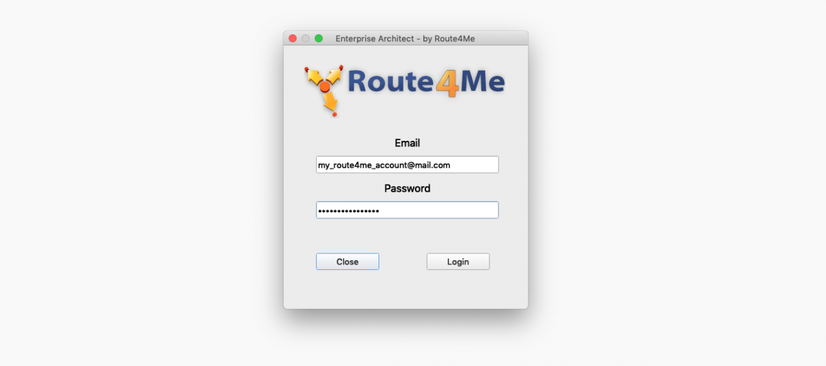 Route4Me's Desktop Tool