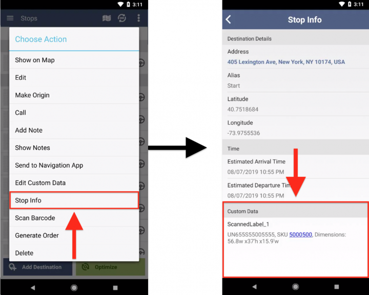 Scanning E-Ink Barcodes from Digital Labels with Route4Me's Android Barcode Scanner