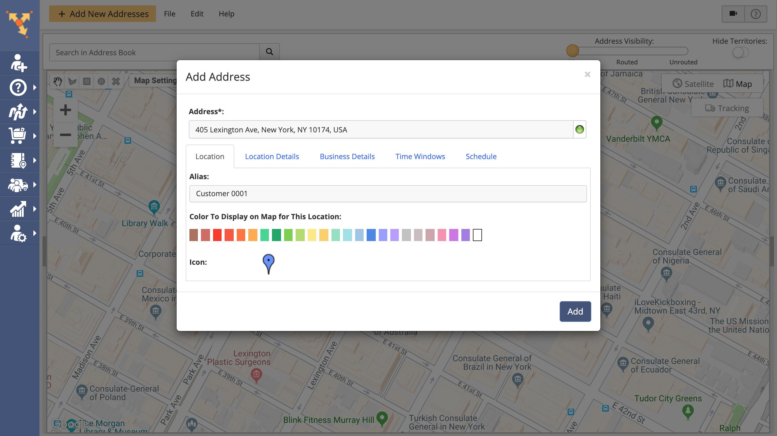 Saving Addresses and Creating Customer Profiles Using the