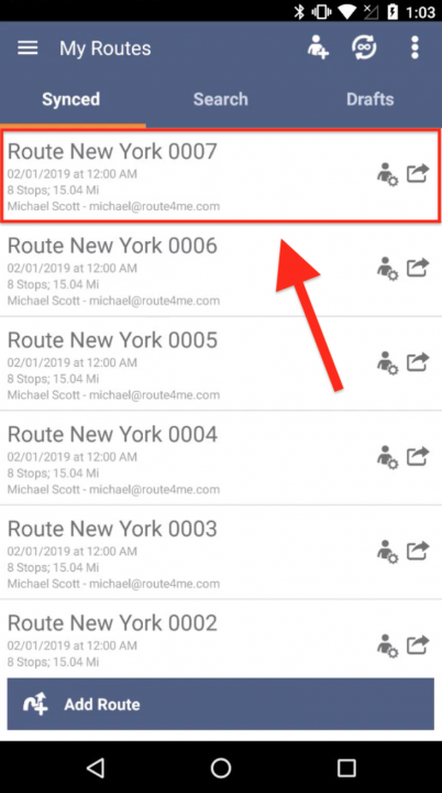 Using the Uber App for Navigating Routes from the Route4Me Android App