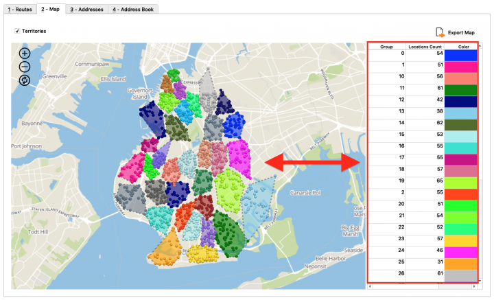 Zip Code Sized Territories - Creating Address Territories by Zip Code Using the Route4Me Enterprise Architect