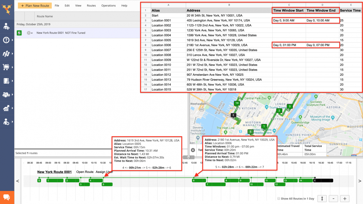 Route4Me Advanced Optimization Fine-Tuning - Prioritizing the Distance, Travel Time, and Wait Time When Planning Routes