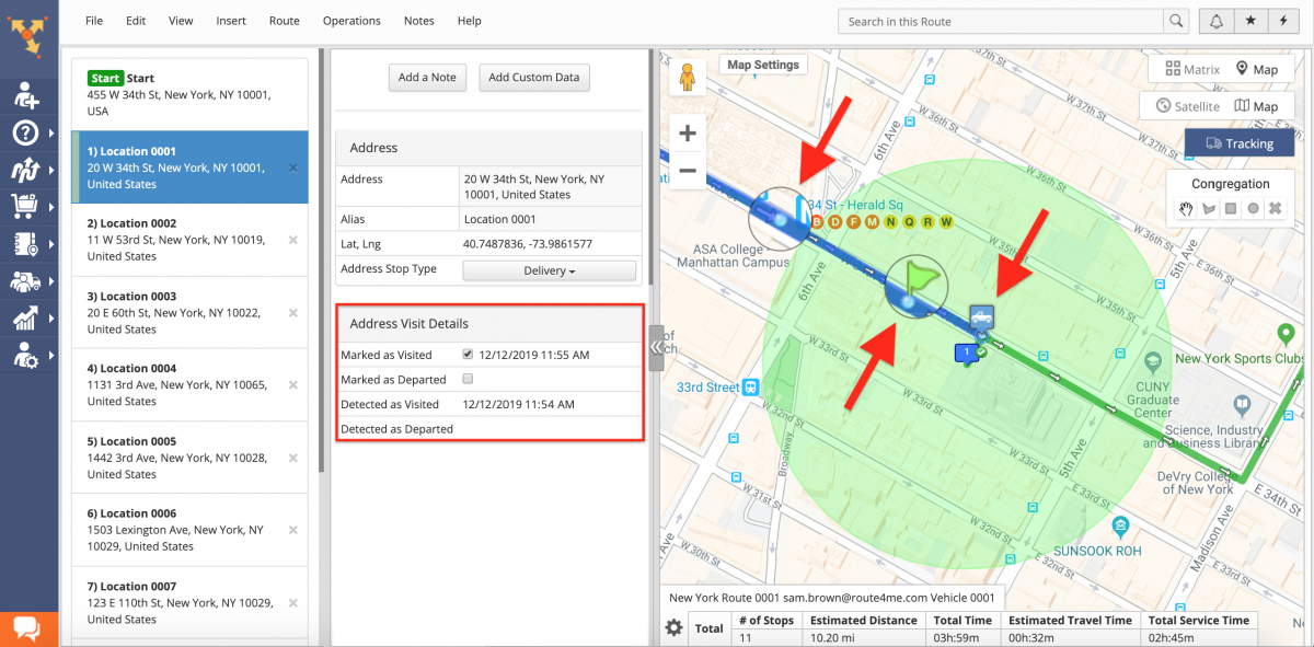 What Factors Could Account for a Discrepancy Between the Marked Time and the Geofence Time?
