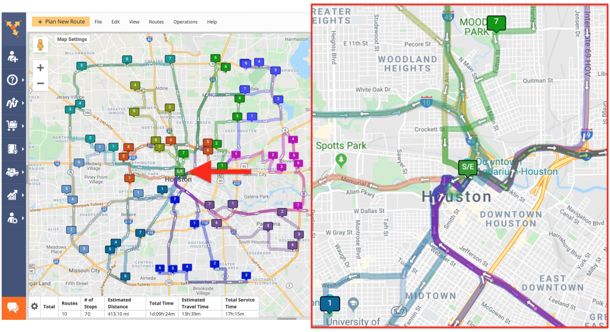 Manufacturing Cross-Docking Route4Me Route Planning and Optimization
