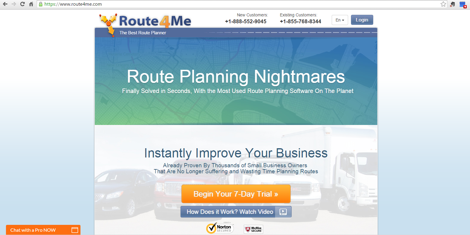 Route4Me's dynamic routing makes web subscriptions easy and convenient