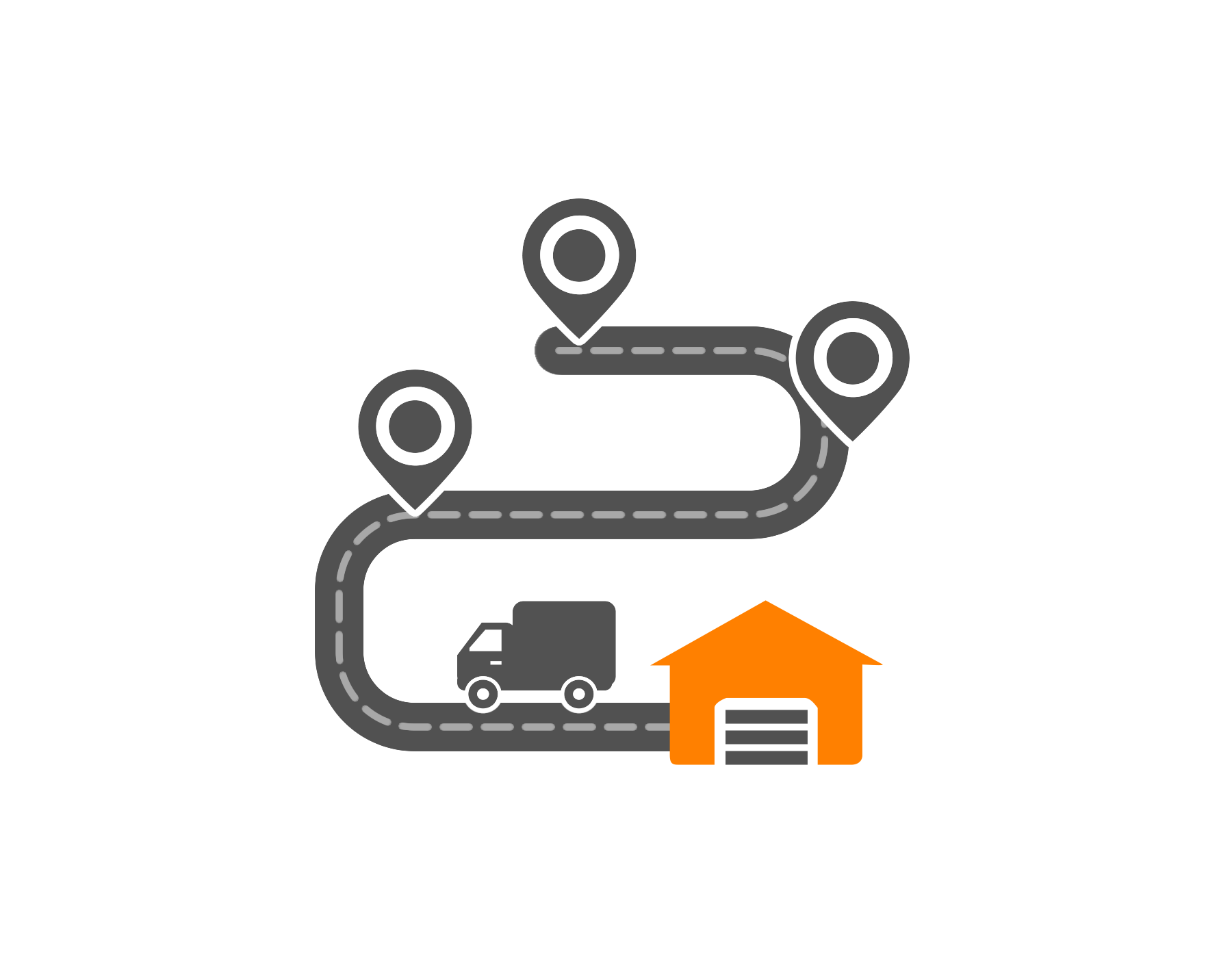 Optimize your route in Route4Me with a single depot and single driver, without constraints